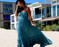 Maxi  Extra Tropical Dress