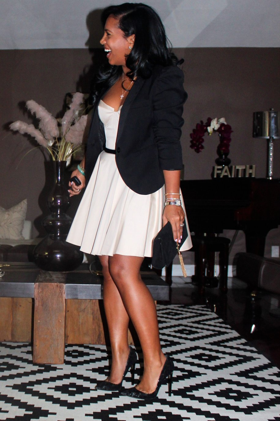 Black Women Fashion Birthday Dress