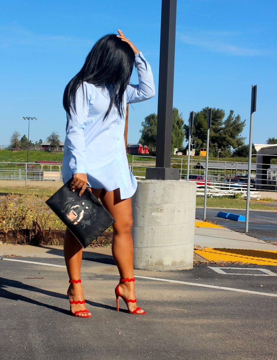 prada blue sandals