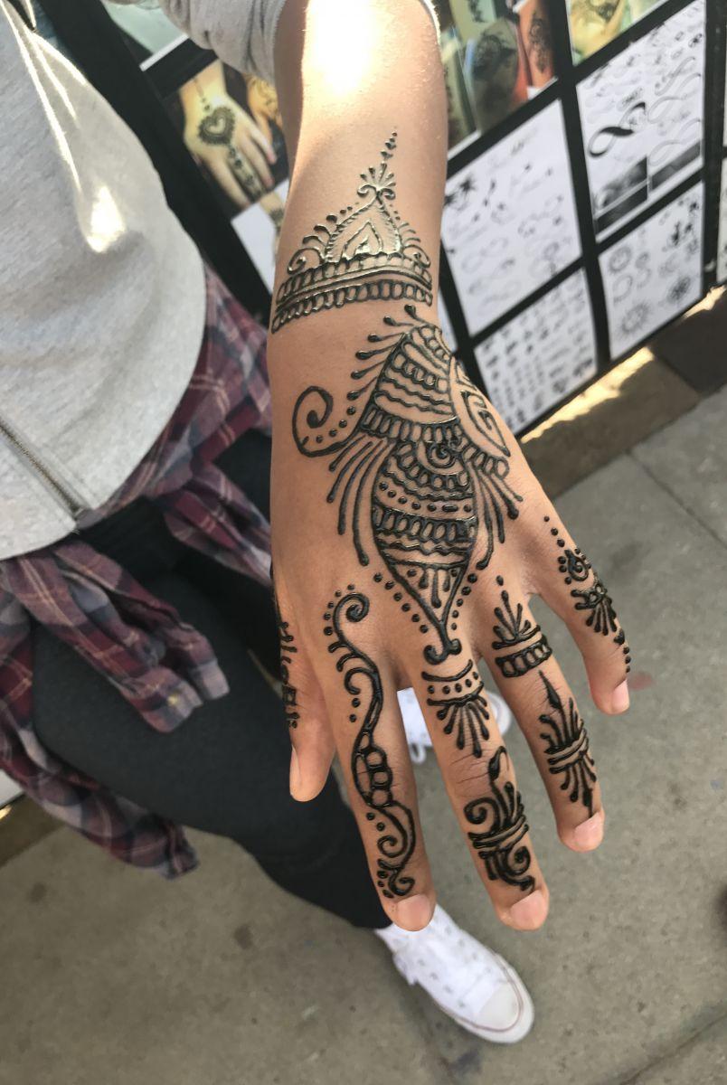 venice beach henna tattoo
