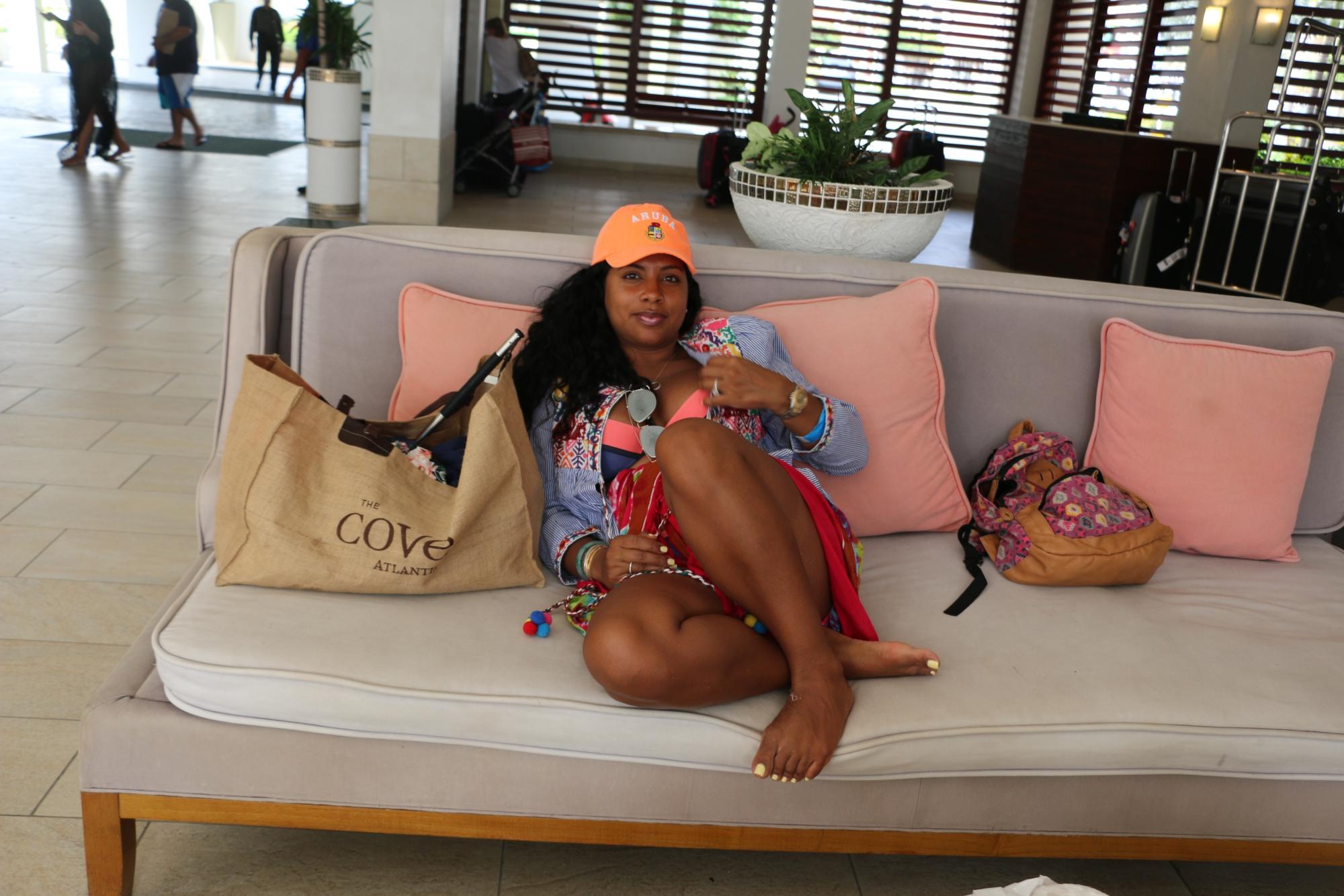 fashion blogger aruba travel