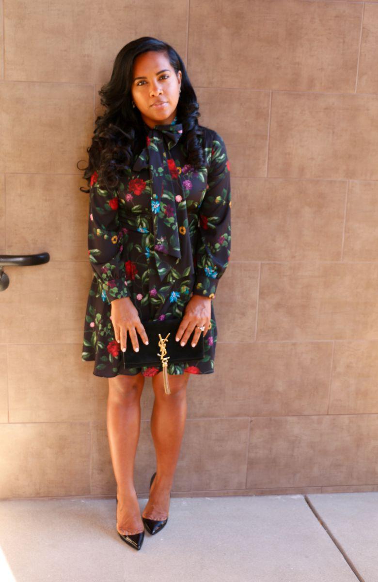 alice & olivia Floral dress