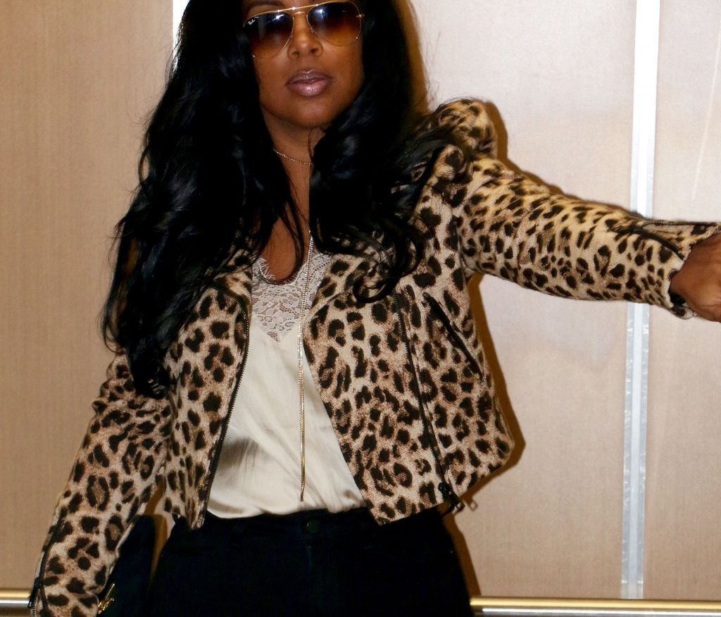 Leopard Motocycle jacket from H&M