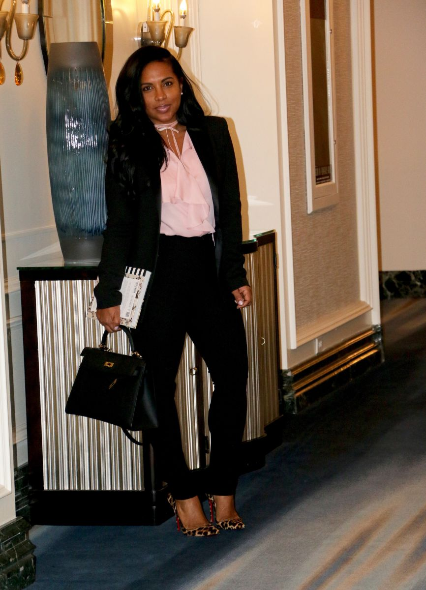 fashion blogger work attire