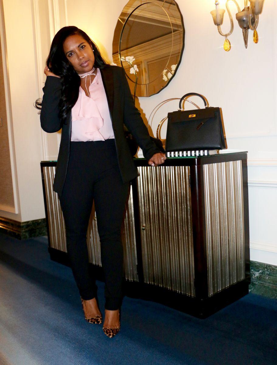 work attire fashion blogger