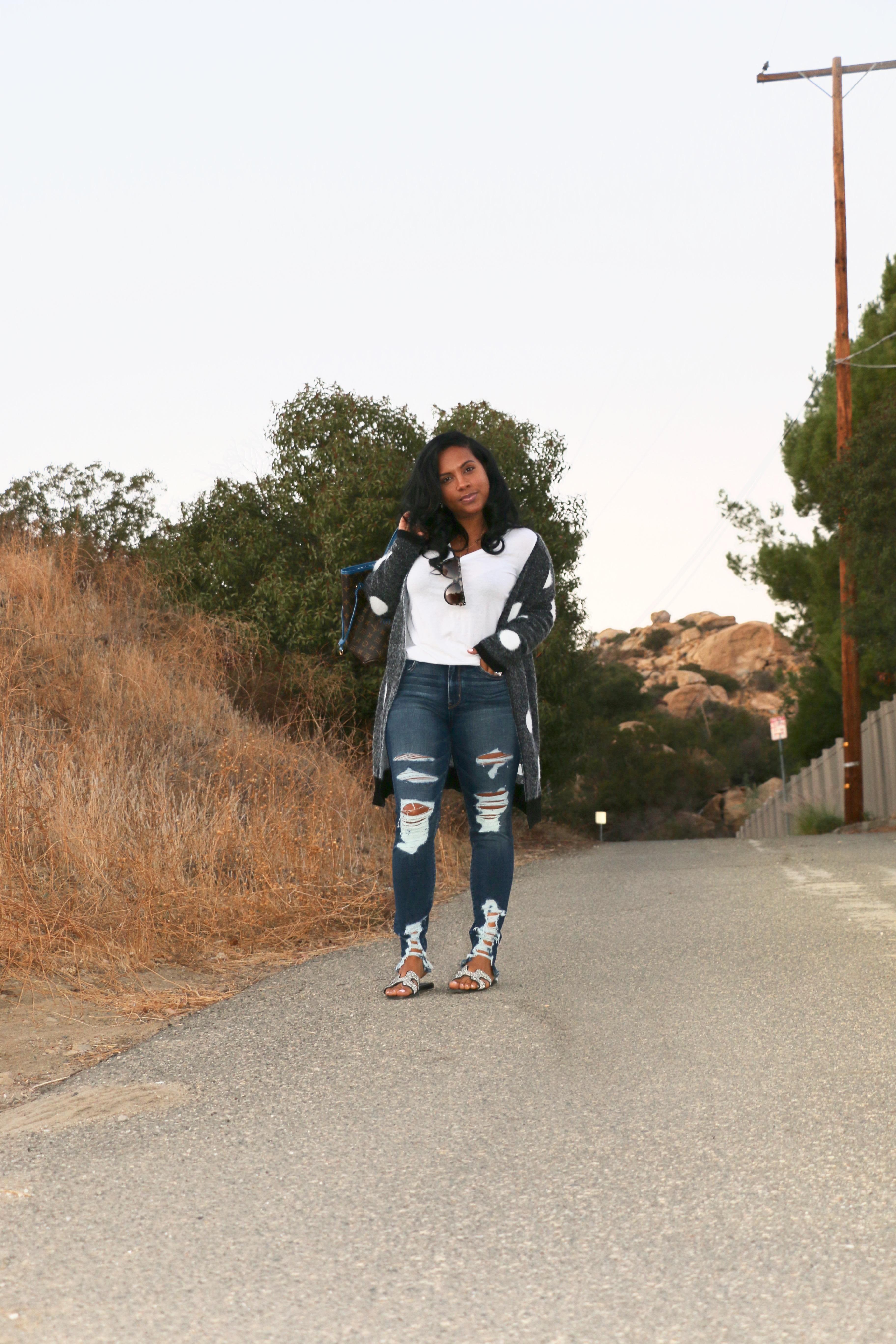 black fshion blogger