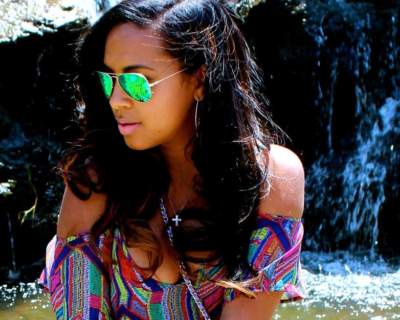 Wearing - Ella Moss Maxi Dress, Ray Bay Aviator Shades, Manolo Blanik, Chanel Bag