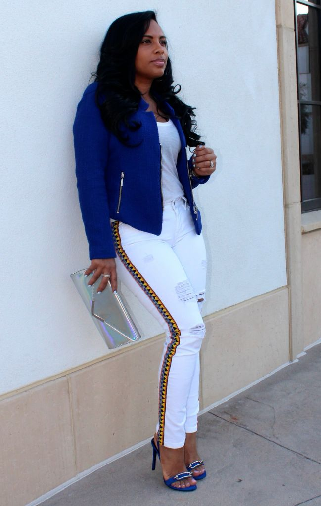 Embellished White Jeans Major Must Haves