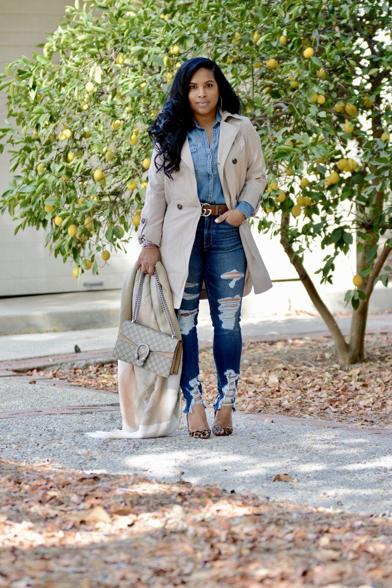 winter style black fashion blogger