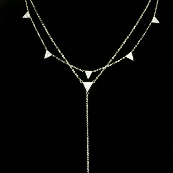 dainty silver chain