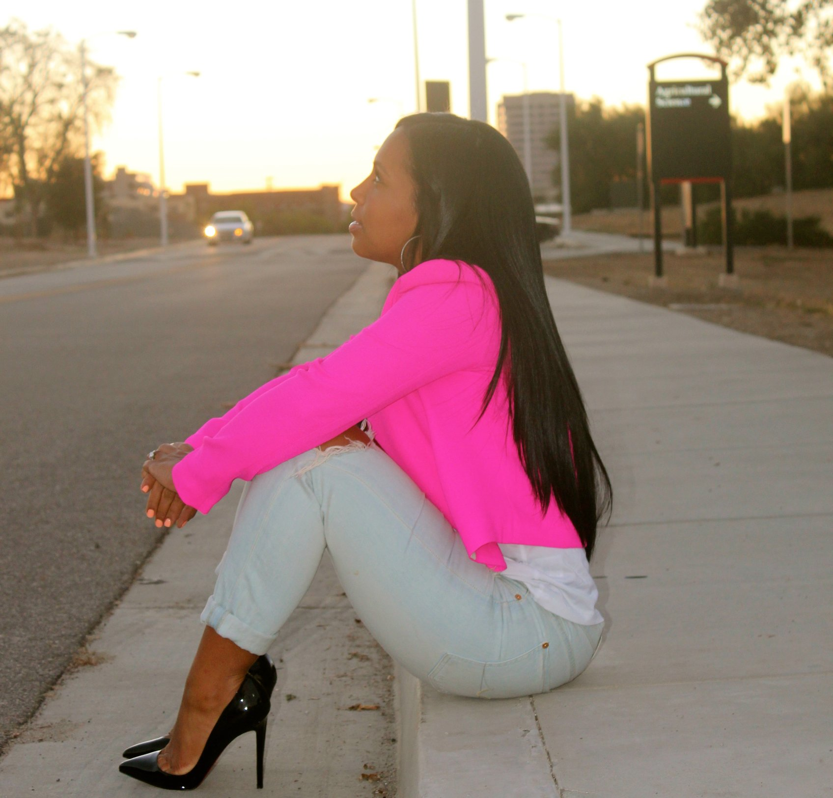 Hot pink blazers shoes for girls