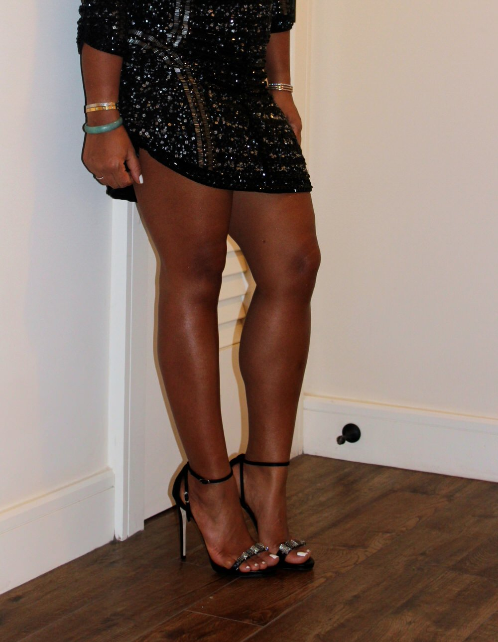 New Years Eve Dress - Parker Dress, Dolce & Gabbana Bag, Giuseppe Zanotti Heels