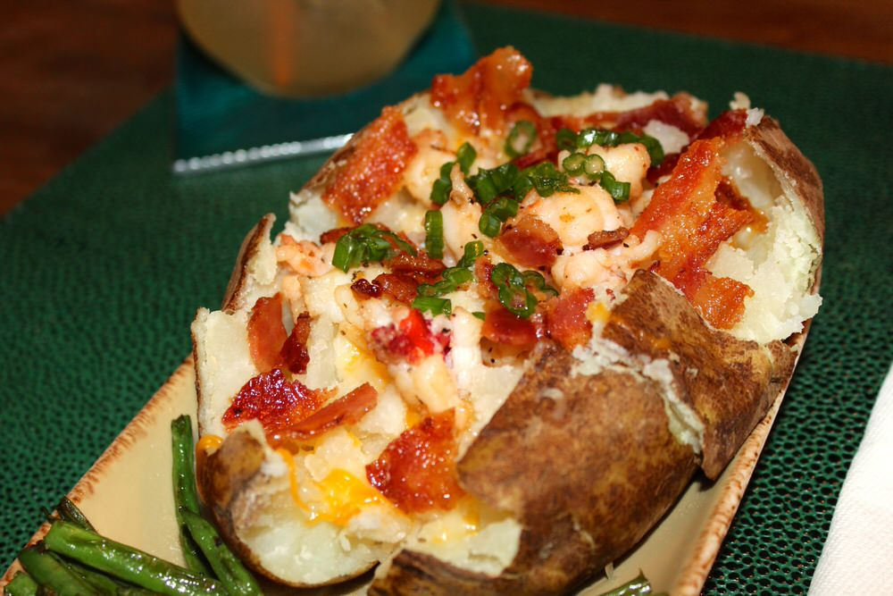 how to cook stuffed potatoes baked