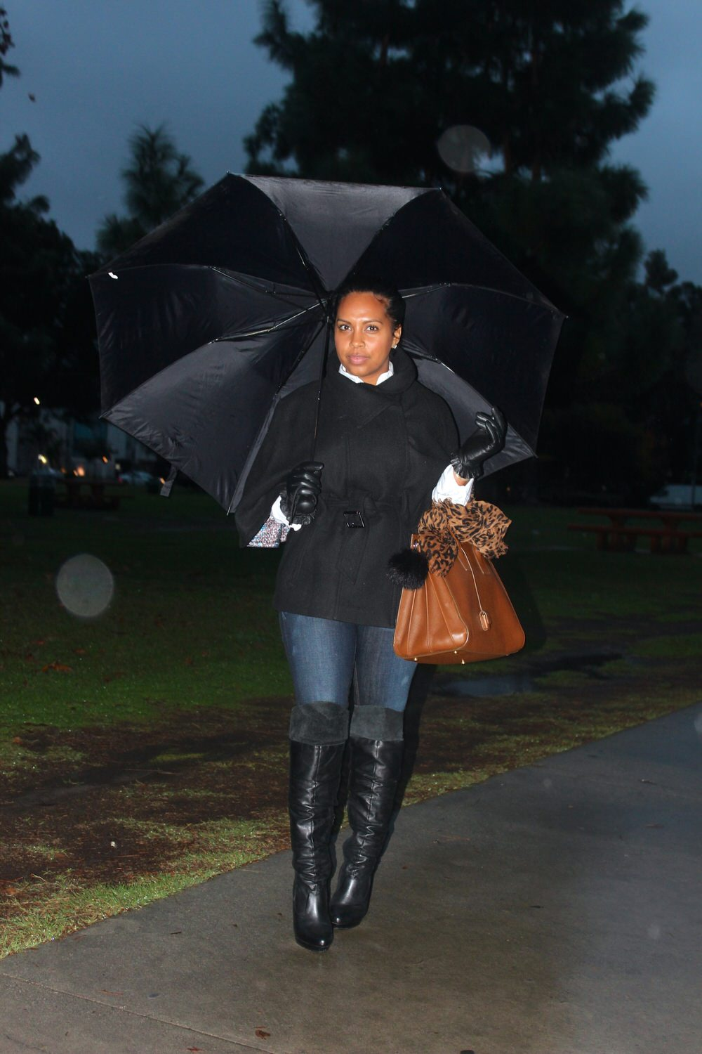 black women fashion stormy weather attire