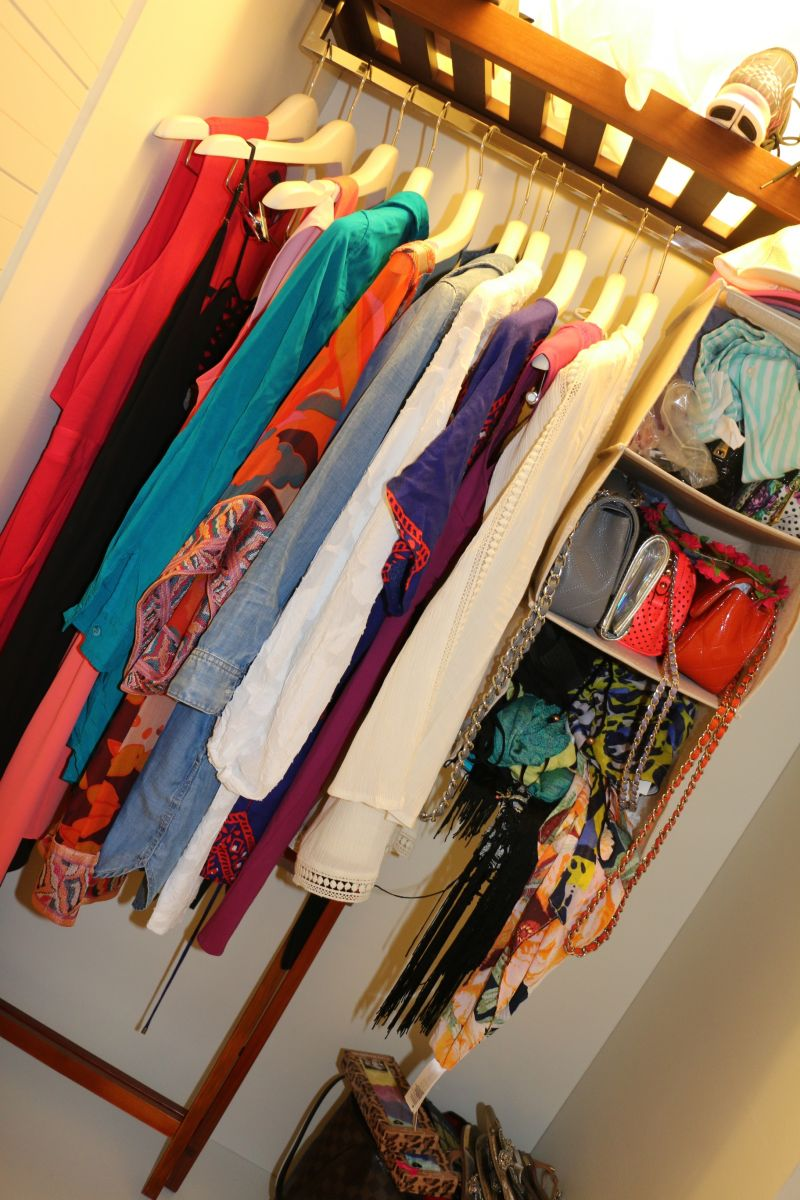 Tanya Major's vacation closet