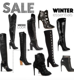 designer boot sale
